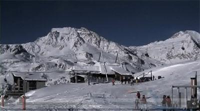 webcam ski aussois